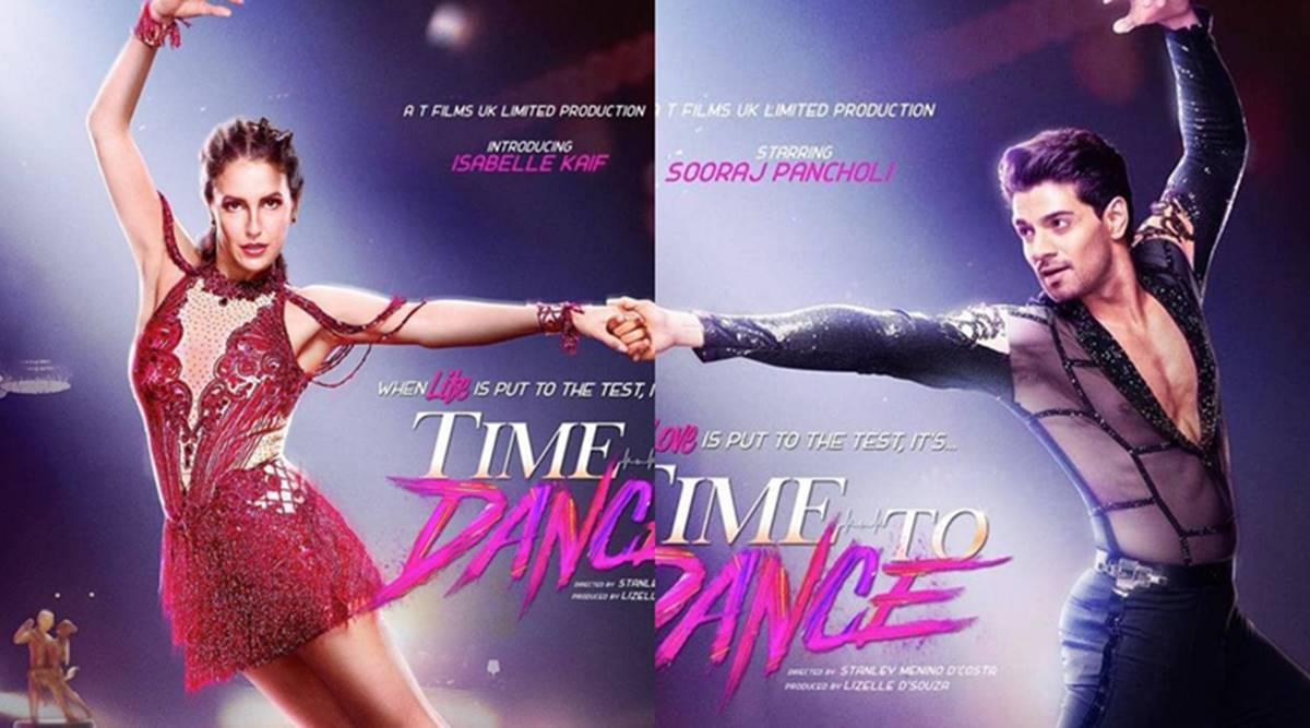 Time To Dance first look: Katrina Kaif's sister Isabella, Sooraj Pancholi  take to the dance floor | Entertainment News,The Indian Express