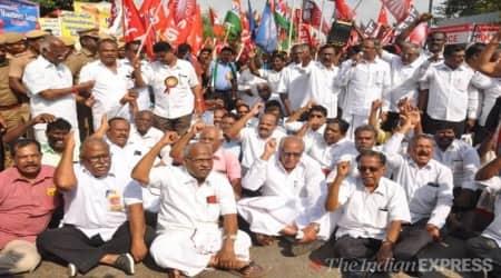Trade Unions Protest