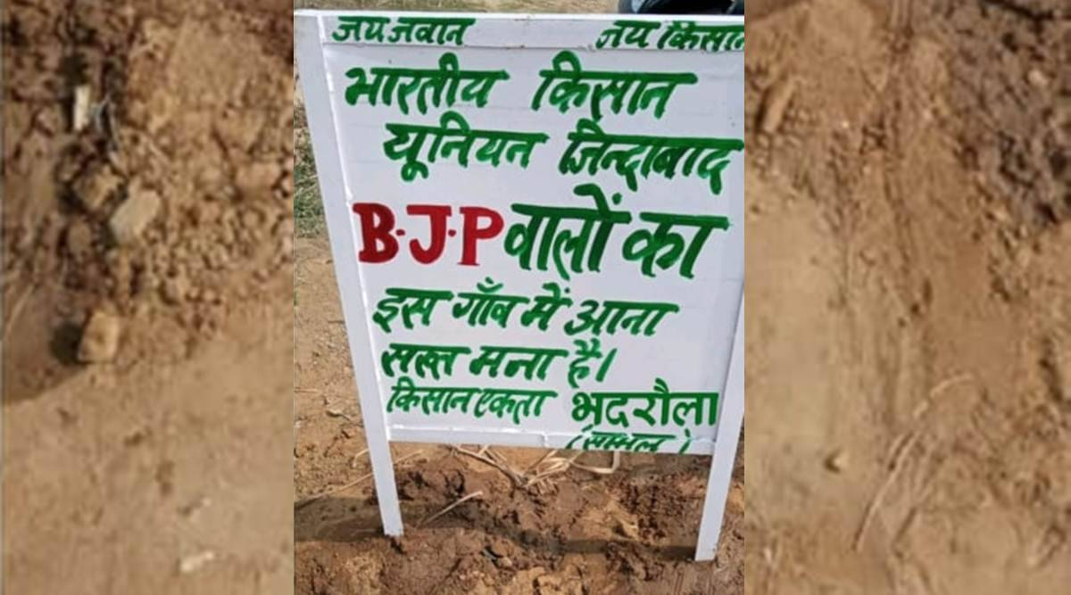 Signboards, slogans face BJP as it heads for west UP to woo Jats before rural polls