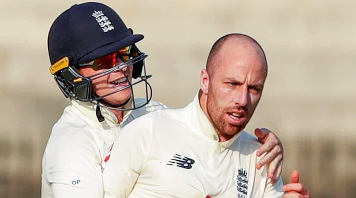 JAck leach, India vs England
