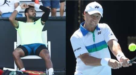 Sumit Nagal, Sumit Nagal match report, Sumit Nagal Australian open, Sumit Nagal vs Ricardas Berankis