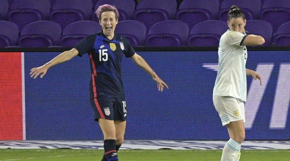 Megan Rapinoe-led US beat Argentina 6-0 to win SheBelieves Cup