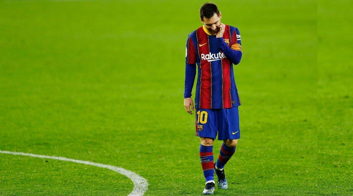 Copa Del Rey Sevilla Beat Barcelona In Lionel Messi S 900th Game Sports News The Indian Express