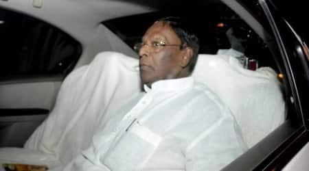 Puducherry government, Congress party, V Narayanasamy, Puducherry election, Puducherry news, Indian express news