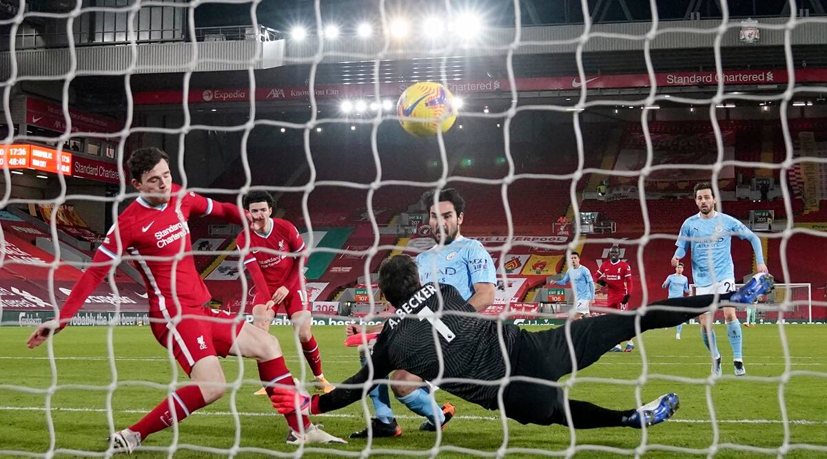 Premier League: Alisson gifts leader Man City win at ...