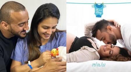 anita hassanandani baby photos