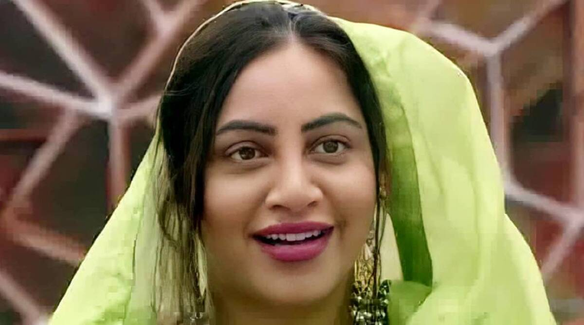 Arshi Khan evicted from Bigg Boss 14 - The Indian Express