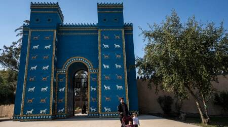 babylon, babylon heritage, UNESCO world heritage, Iraq babylon, Iraq news, indian express