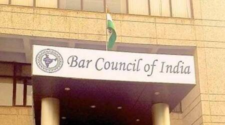 BCI, Bar Council of India, LL.B exams, legal exams 2021, legal education, exams for LL.B students, online legal exams, Indian Express