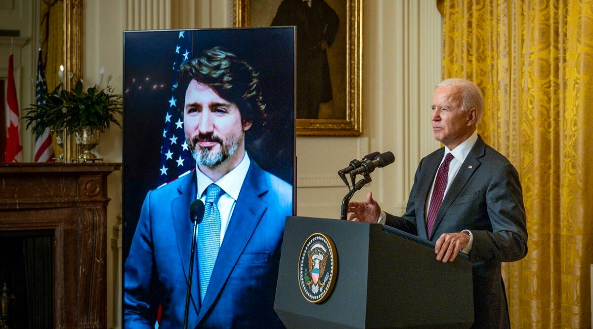 Coronavirus forces Biden to forgo pomp for U.S.-Canada meeting