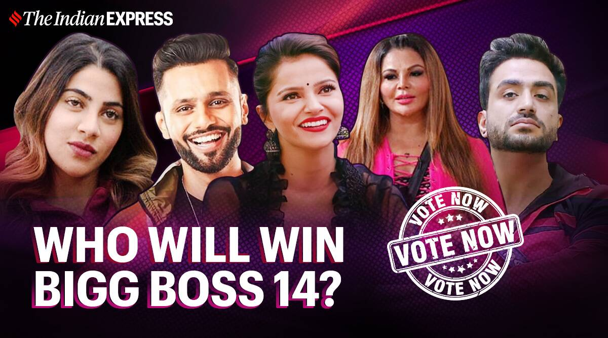Bigg Boss 14 winner will be Rubina Dilaik, Rahul Vaidya or Rakhi Sawant? Cast your votes - The Indian Express