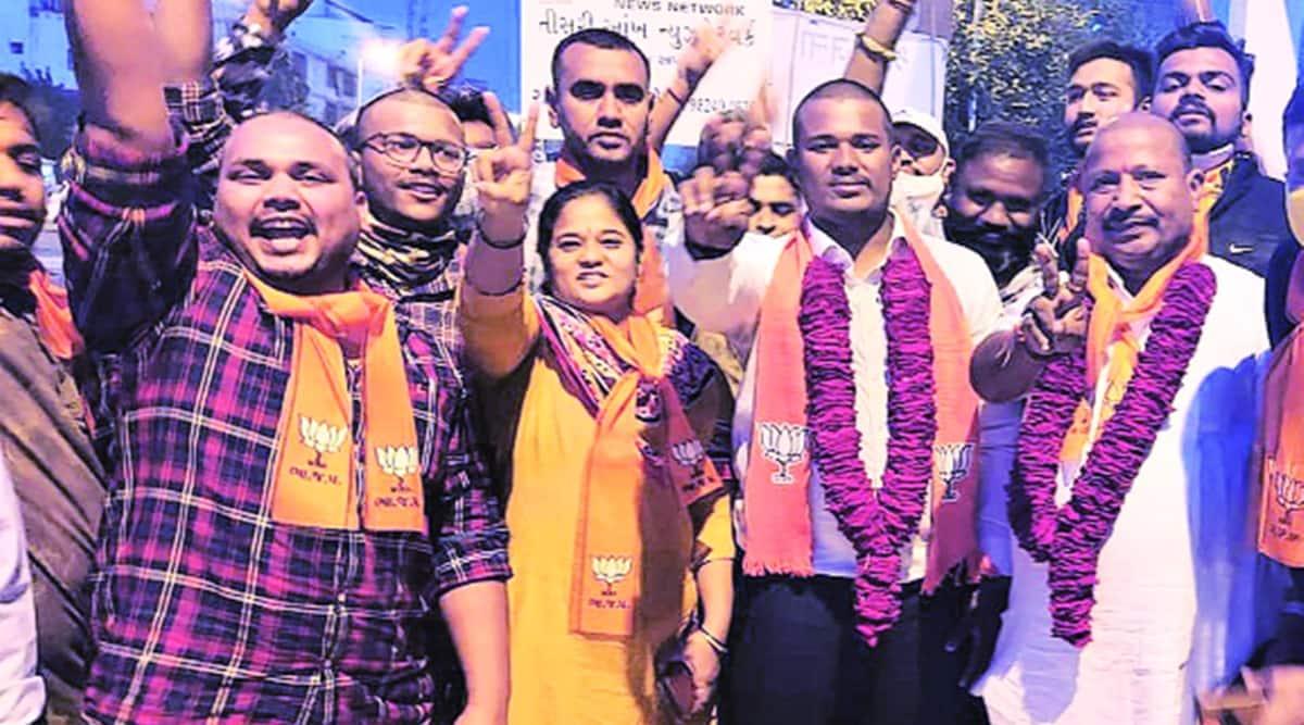 Vadodara Municipal Corporation, Vadodara Municipal Corporation polls, BJP, Vadodara Municipal Corporation bjp candidates, indian express news