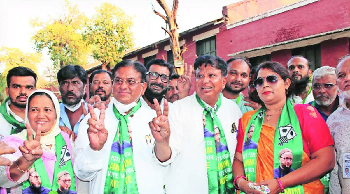 AIMIM wins 7 seats in debut poll, BJP retains Ahmedabad
