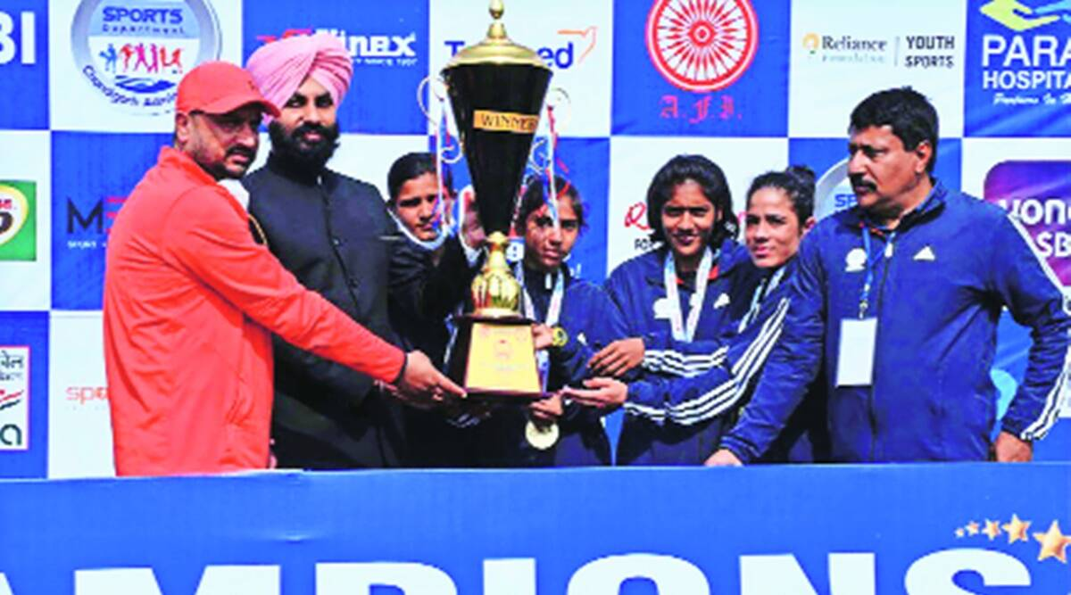 55th National Cross Country Championshipship Haryana Sonika