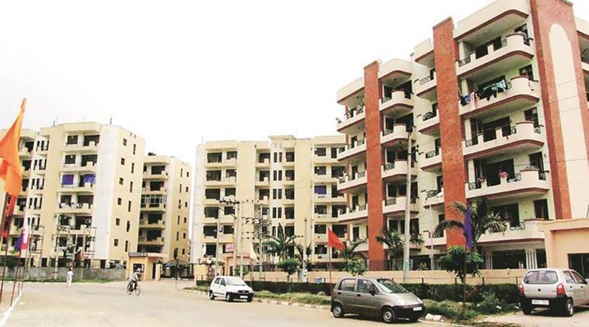 housing for all project, Chandigarh housing project, Chandigarh housing for employees officers, Punjab news, indian express