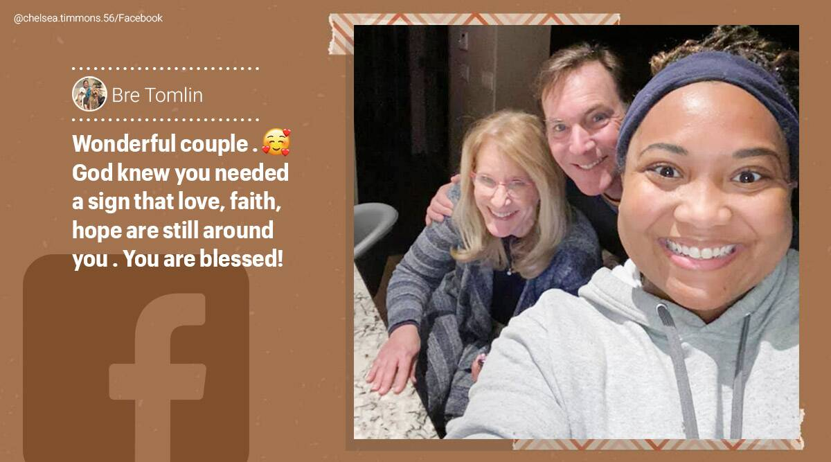 Yexas, texas storm, texas storm viral stories, couple took in delivery driver stranded in Texas storm, twitter stories, good news, trending, indian express, indian express news