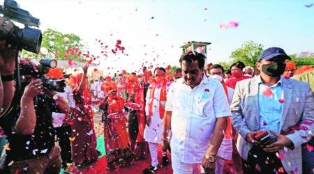 BJP wins VMC for fifth time in a row; Cong wins 7 seats