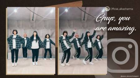 Japan, dance group, Japanese dance group, Bollywood dance group, Asianz Dance group, Asianz Dance group chammak challo dance cover, Asianz Dance group dancing to Bollywood songs, Trending news, Indian Express news