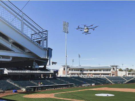 Baseball coach drone
