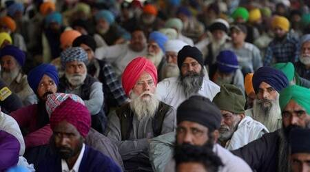 farmers protesting labelled khalistanis