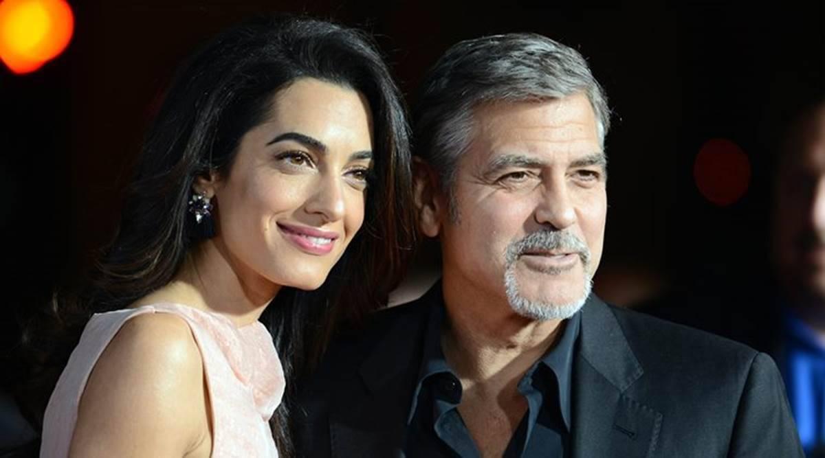 George Clooney, George Clooney twins, George Clooney parenting, George Clooney and Amal Clooney, George Clooney pandemic hobbies, George Clooney daughter, George Clooney son, indian express news
