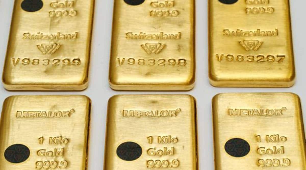 gold, gold bars