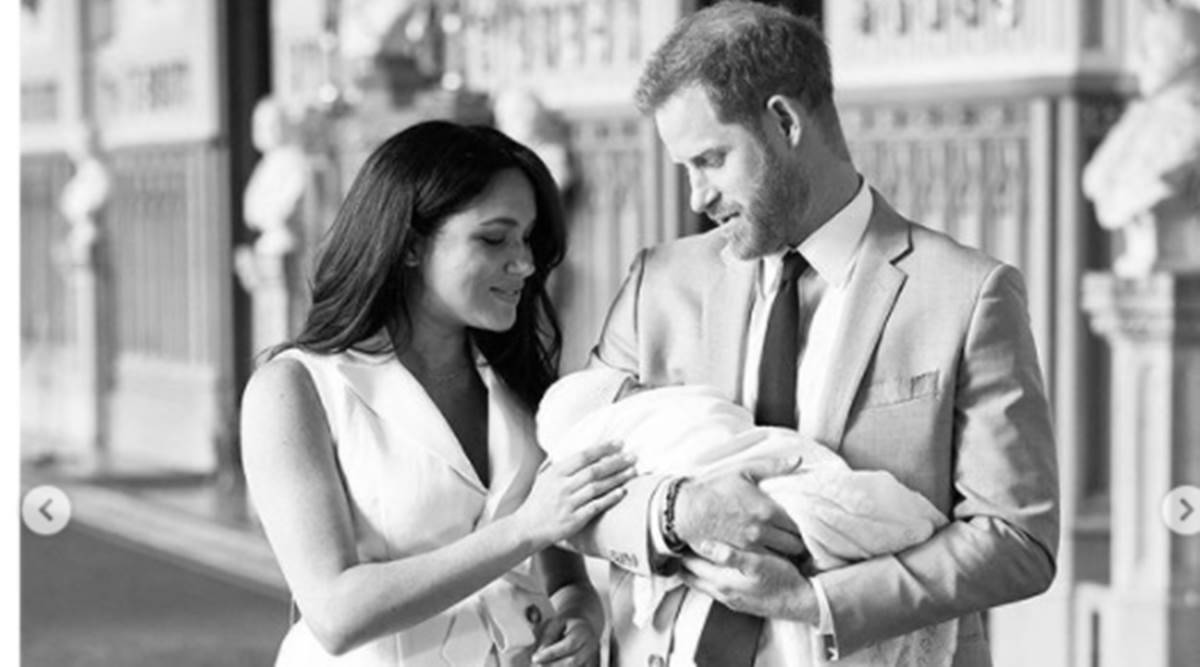 Prince Harry and Meghan Markle, Prince Harry and Meghan Markle second baby, Meghan Markle pregnancy, royal protocols, Duke and Duchess of Sussex, indian express news
