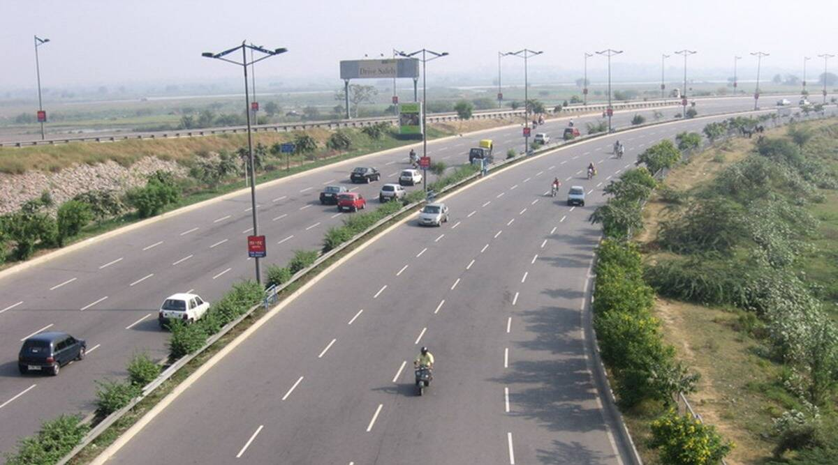 union Budget 2021, highway projects, highway investment projects, delhi mumbai expressway, National Highways Authority of India, indian express news