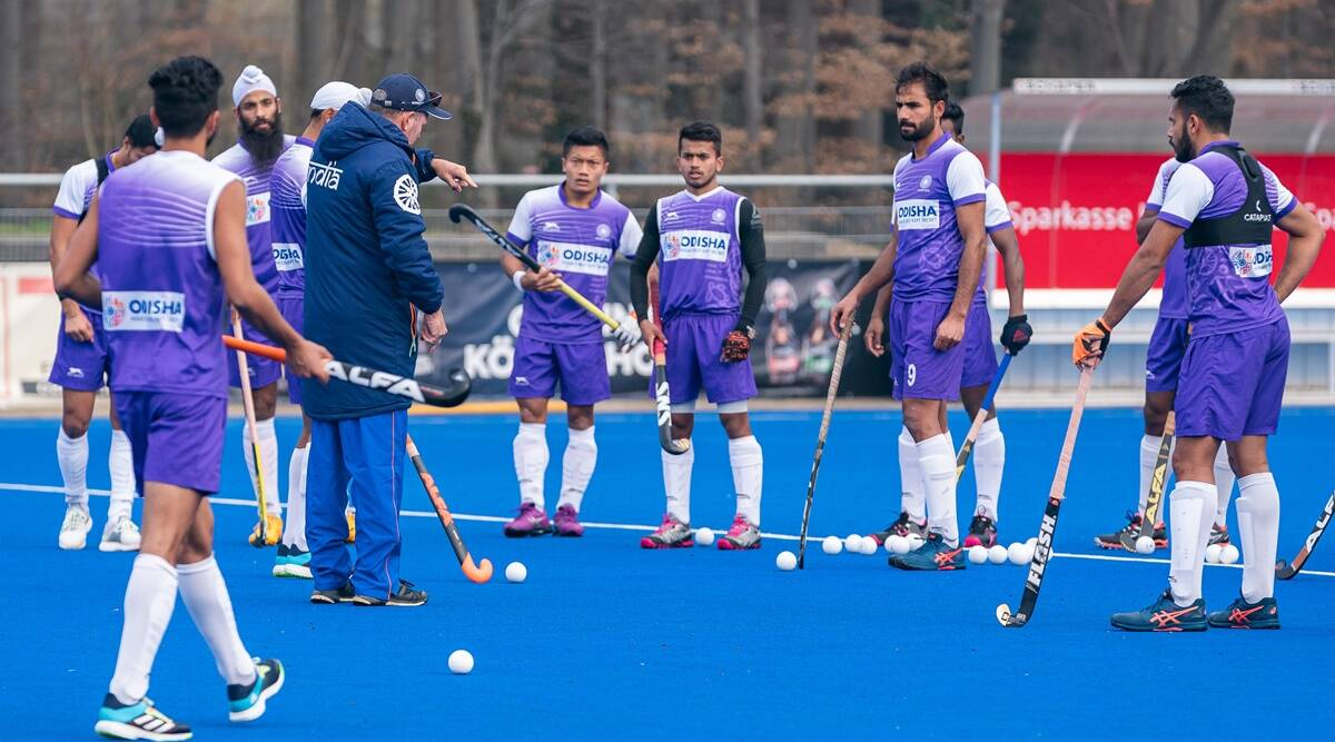 Starved of matches, Indian men's hockey begins Olympic year in Germany