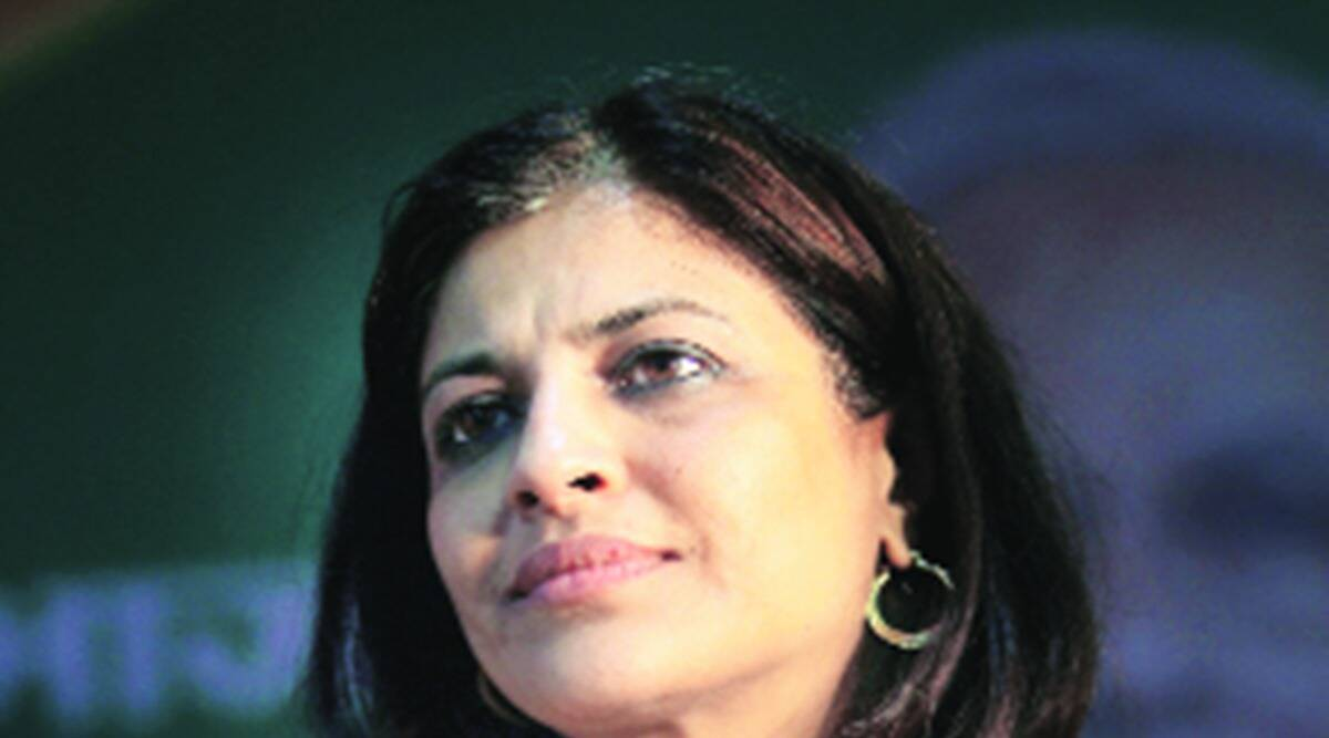 Shazia Ilmi, ex-BSP MP accused of misbehaving, Delhi BJP vice-president, BSP MP, akbar Ahmad, akbar Ahmad fir, India news, indian express news