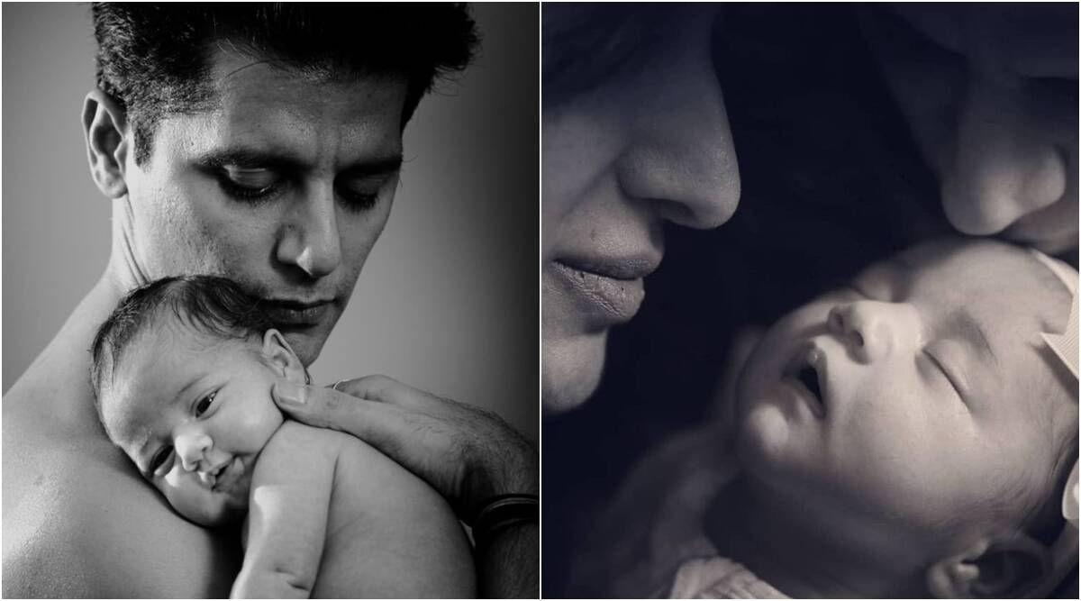 karanvir bohra daughter new photos