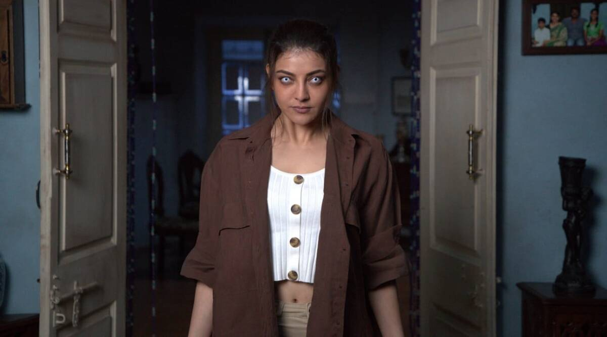 Live Telecast review: Kajal Aggarwal's horror series is dead on arrival - The Indian Express