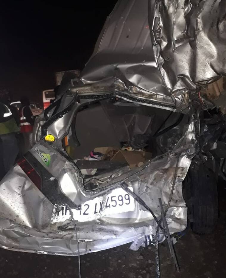 Mumbai Pune Expressway accident, Maharashtra accident, Pune expressway accident, Pune news, Mumbai news, Indian Express