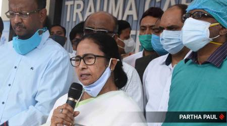 Mamata Banerjee, Jakir Hossain, Mamata on Jakir Hossain attack, West Bengal elections, Bengal polls, Mamata Rally, AMit Shah rally, India news, Indian express