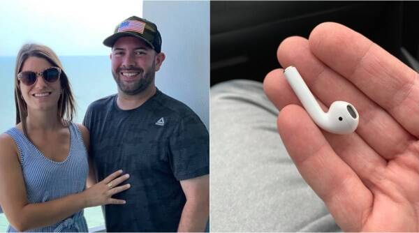 man swallow airpods, man swallows airpods in sleep, doctor remove airpod from stomach, airpods inside stomach, odd news, weird news, viral news, indian express news