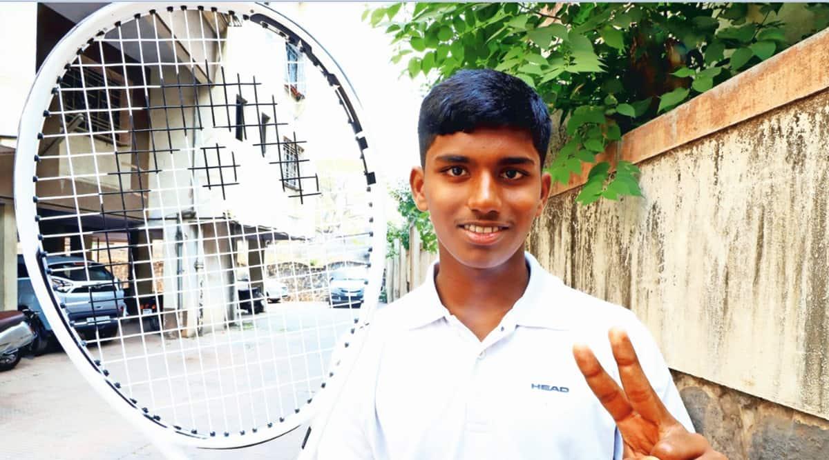 Universal Tennis Rating, Tennis, Universal Tennis Rating world umber one, Manas Dhamne. tennis news, indian express news