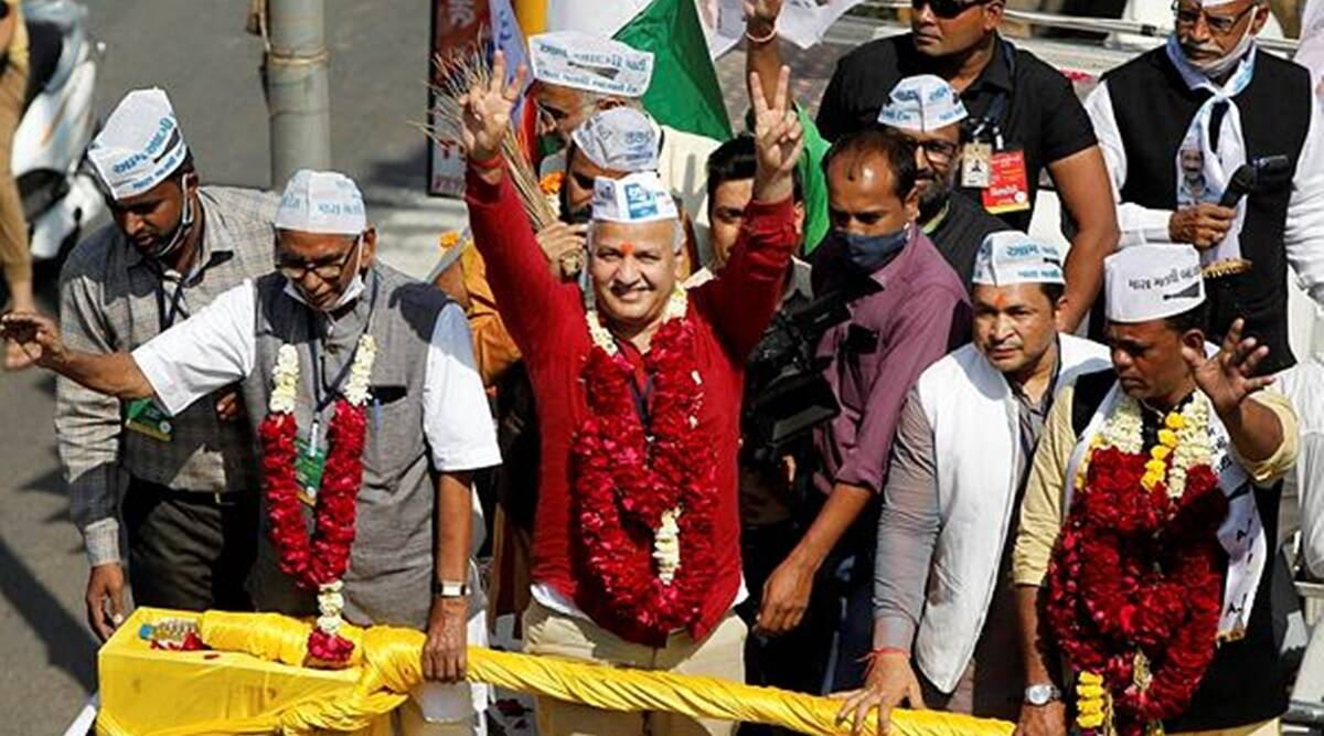 PAAS supports AAP candidates in Surat civic polls