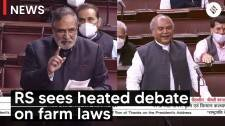 Heated debate in Rajya Sabha over the farm laws & farmers protests