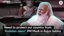 Need to protect our country from 'Andolan Jeevi': PM Modi