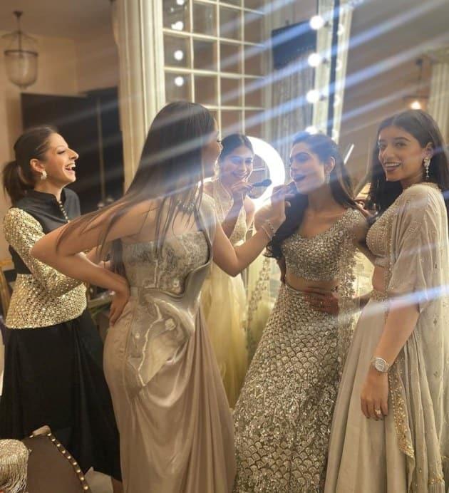 mira as Bride Squad