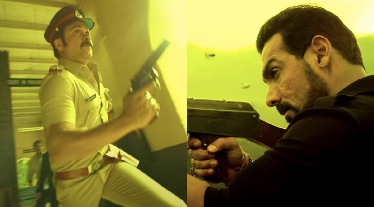 Mumbai Saga teaser: It's Emraan Hashmi's cop vs John Abraham's don in this crime drama - The Indian Express