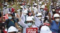 Myanmar protest call for general strike draws junta threat