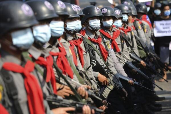 Myanmar coup opponents vow to continue protest action