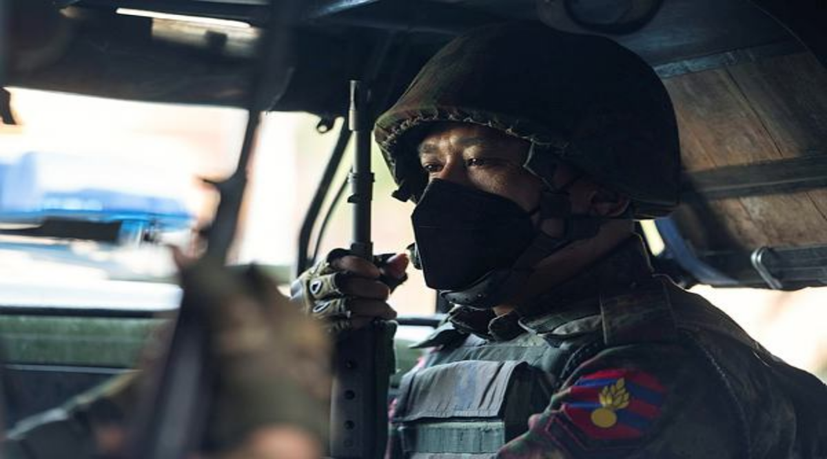 Myanmar Military coup, Indian citizens