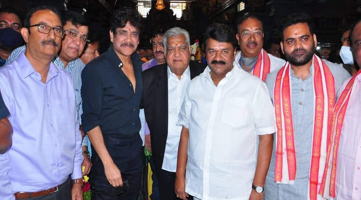 Nagarjuna Akkineni-Praveen Sattaru film launch