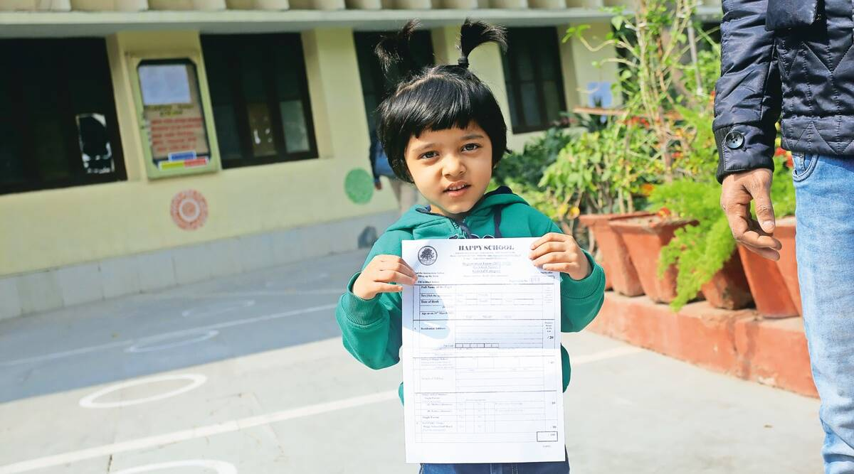 Delhi nursery admissions, Delhi private schools, Covid pandemic, Delhi news, Indian express news