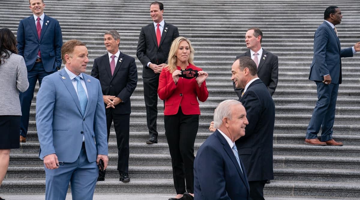 Donald Trump impeachment, Republicans Trump impeachment, GOP leaders, Rep. Liz Cheney, Republican senators trump impeachment, US news, indian express