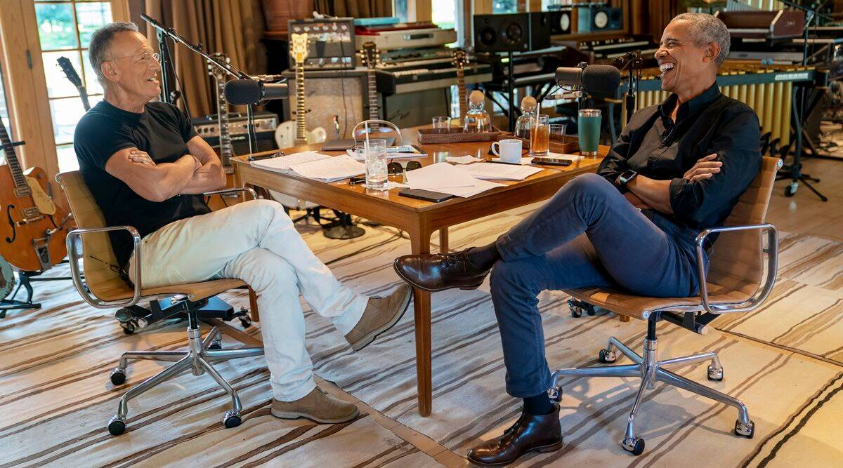 'Who's the Boss': Barack Obama and Bruce Springsteen team up for podcast, fans can't keep calm