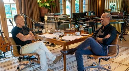 Barack Obama and Bruce Springsteen: The latest podcast duo