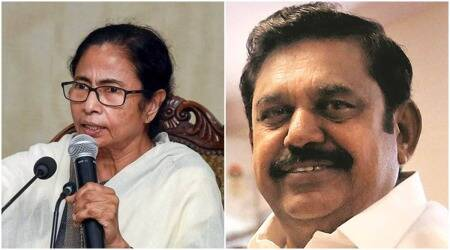 Mamata Banerjee, West bengal polls, west bengal daily wage labourers rate hike, Tamil nadu Vanniyar community reservation, Edappadi K Palaniswami, kerala free covid RT-PCR, indian express news